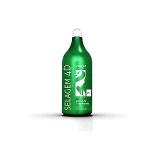 Creme de Tratamento Selagem 4D Onixx Brasil 1 Litro