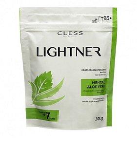 Pó Descolorante Lightner Cless Menta e Aloe Vera 300g