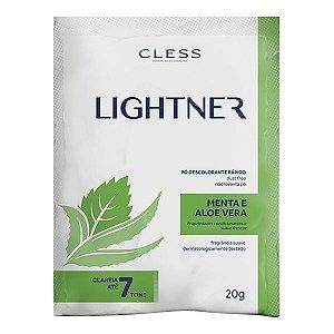 Pó Descolorante Lightner Cless Menta e Aloe Vera 20g