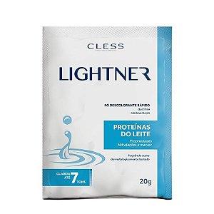 Pó Descolorante Lightner Cless Proteínas do Leite 20g