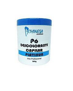 Pó Descolorante Capilar Platinum Chinesa Cosmeticos com 500g