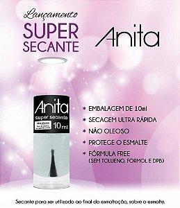Super Secante de Esmalte não oleoso Anita 10ml