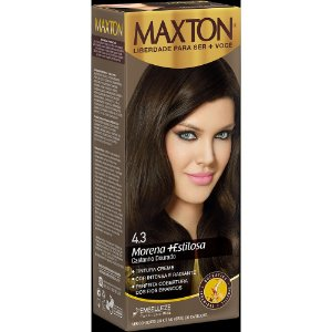 Tintura Embelleze Maxton 4.3 Castanho Dourado