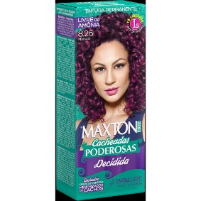 Tintura Embelleze Maxton Free Cacheadas 8.26 Marsala
