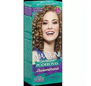 Tintura Embelleze Maxton Free Cacheadas 8.0 Louro Claro