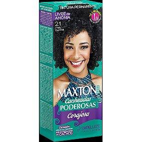 Tintura Embelleze Maxton Free Cacheadas 2.1 Preto Especial