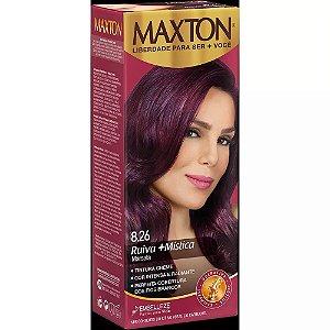 Tintura Embelleze Maxton 8.26 Vermelho Marsala
