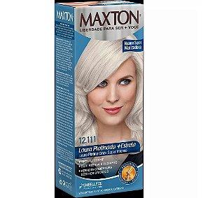 Tintura Embelleze Maxton 12.111 Louro Platinado Cinza Super Intenso