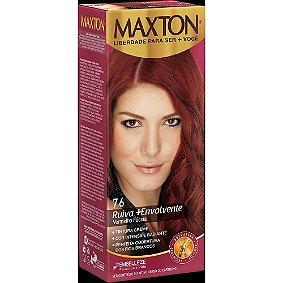 Tintura Embelleze Maxton 7.6 Vermelho Fucsia