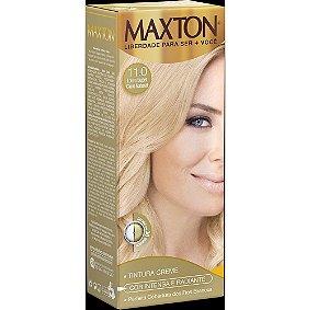 Tintura Embelleze Maxton 11.0 Louro Super Claro Natural.