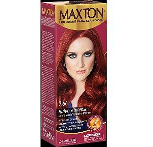 Tintura Embelleze Maxton 7.66 Louro Médio Vermelho Intenso
