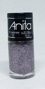 Esmalte Glitter To Chocada Anita 10ml