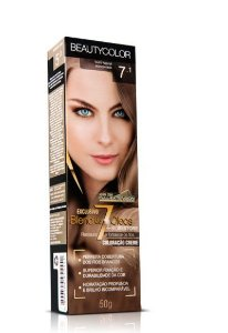 Tintura Individual Beauty Color 7.1 - Louro Natural Acinzentado