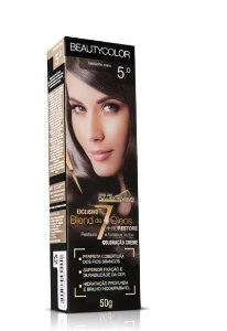 Tintura Individual Beauty Color 5.0 - Castanho Claro