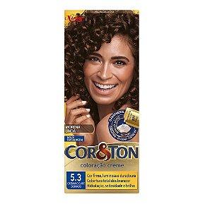 Tintura Cor&Ton 5.3 Castanho Claro Dourado