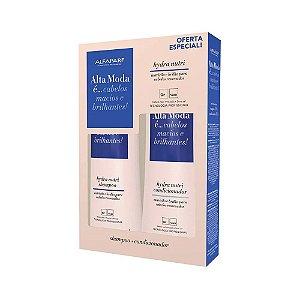 Kit Shampoo + Condicionador Hydra Nutri Alta Moda - Alfaparf