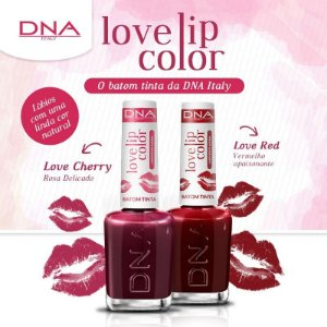 Kit 12 Batons Tinta DNA Italy - 06 Love Red + 06 Love Cherry