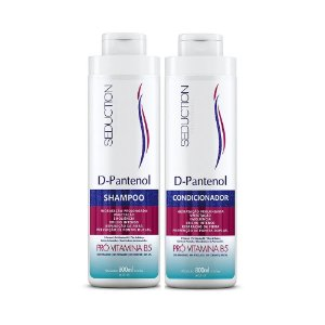 Kit Seduction D-Pantenol com Shampoo e Condicionador 800 ml