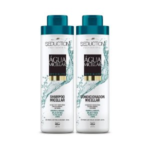 Kit Seduction Água Micellar Shampoo e Condicionador - 800ml