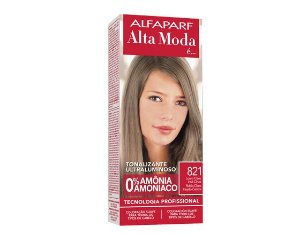 Tonalizante Alfaparf Alta Moda 821 Louro Claro Irisé Cinza