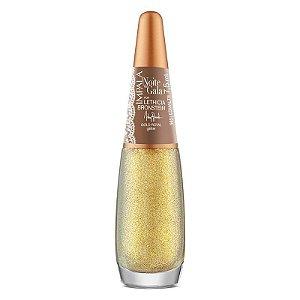 Esmalte Impala Glitter  Gold Royal  Coleção Noite de Gala 7,5ml