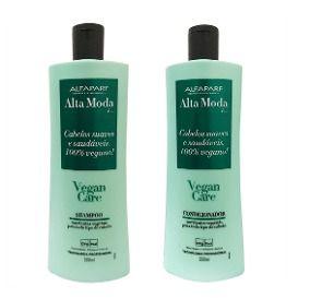 Kit Shampoo e Condicionador Alta moda Alfaparf Vegan Care