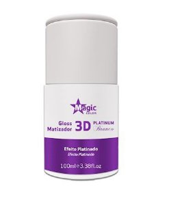 Matizador 3D Platinado  Magic Color Platinum Branco 100 ml