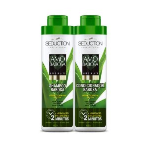 Kit Seduction Amo Babosa Espécialité Shampoo e Condicionador 800ml