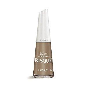 Esmalte Metalico Risqué Ouro Nude 8ml
