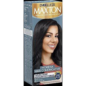 Tintura Embelleze Maxton 2.1 Preto Especial