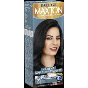 Tintura Embelleze Maxton 1.01 Preto Carvão