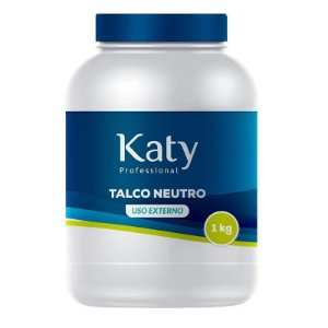 Talco Profissional Neutro Katy 1 kg