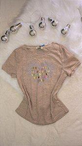 T- Shirt Coração - M