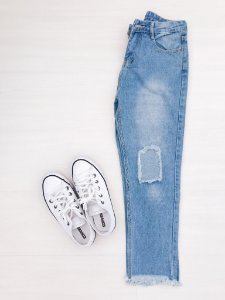 Jeans Destroyed - Tam - 36