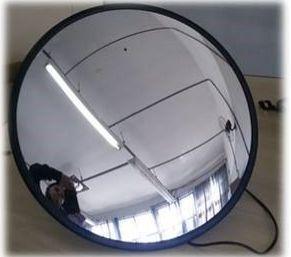 ESPELHO CONVEXO COM CÂMERA 60 cm DE DIÂMETRO
