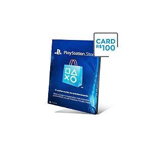 Cartão PSN Brasil R$ 100