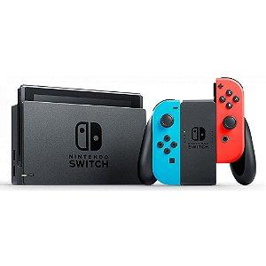 Console Nintendo Switch Azul/Vermelho - Nintendo