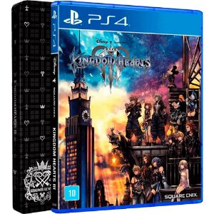 Jogo Kingdom Hearts III (Steelbook Edition) - PS4