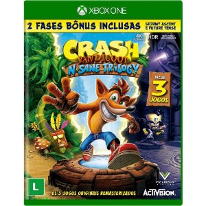 Jogo Crash Bandicoot N. Sane Trilogy - Xbox One