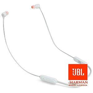 Fone de ouvido JBL T110BT - Branco