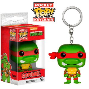 Chaveiro Pop! Keychain: TMNT - Raphael