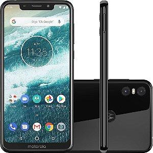 Celular Motorola Moto One 64GB - Preto