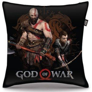 Almofada God Of War - Kratos e Atreus
