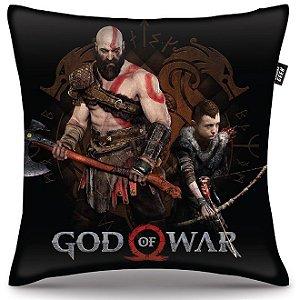 Almofada God Of War - Kratos e Atreus