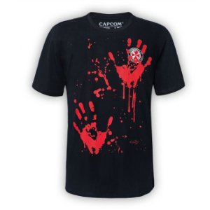 Camiseta Resident Evil - Blood Hands