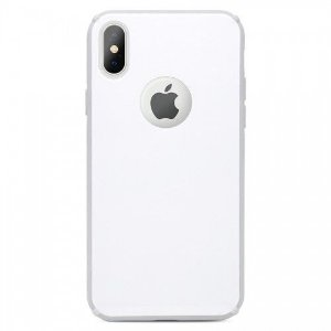 Capinha Antichoque Tampa de Vidro Branco - iPhone X/XS - iWill