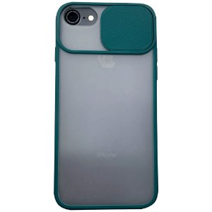 Capinha Com Proteção na Câmera - iPhone 6/6S/7/8 - Verde Escuro