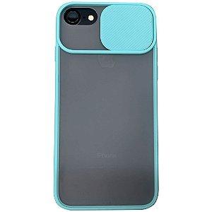 Capinha Com Proteção na Câmera - iPhone 6/6S/7/8 - Verde Água