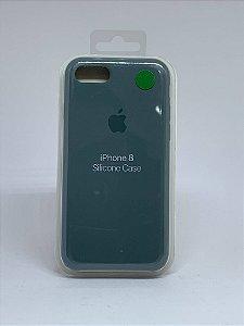 Capinha Silicone Apple - Verde Militar - iPhone 7/8