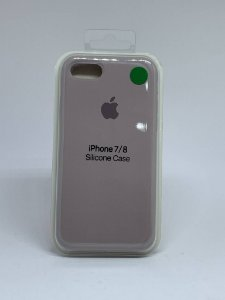 Capinha Silicone Apple - Cinza - iPhone 7/8